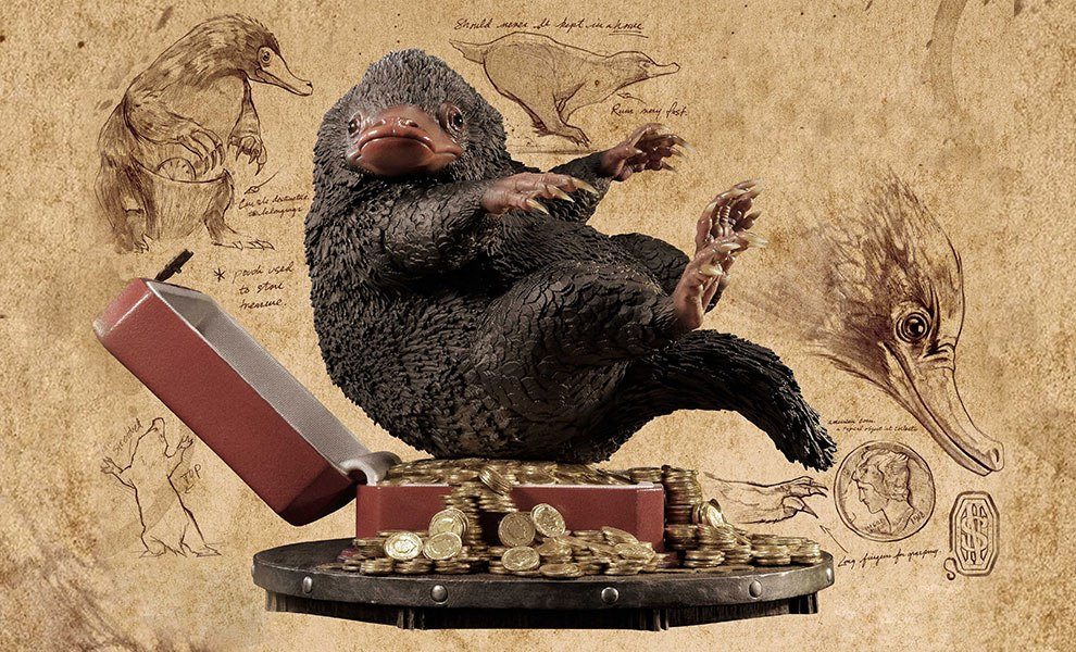 Gallery Feature Image of Niffler Statue - Click to open image gallery