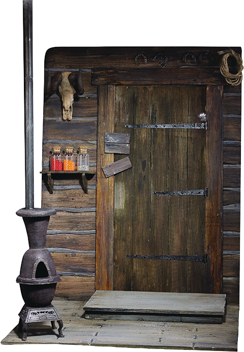 Asmus Collectible Toys The Door of Haberdashery Sixth Scale Figure Accessory