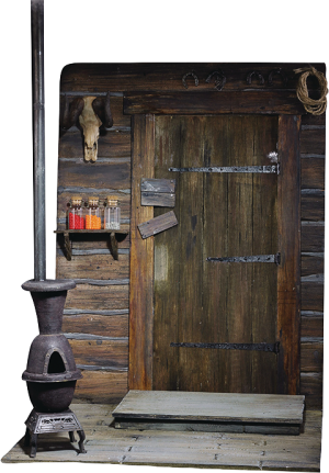 The Door of Haberdashery Sixth Scale Figure Accessory