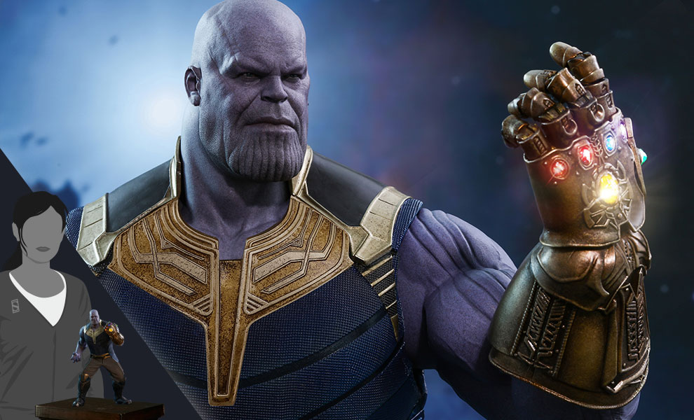 Gallery Feature Image of Thanos Sixth Scale Figure - Click to open image gallery