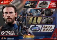 Gallery Image of Captain America Movie Promo Edition Sixth Scale Figure