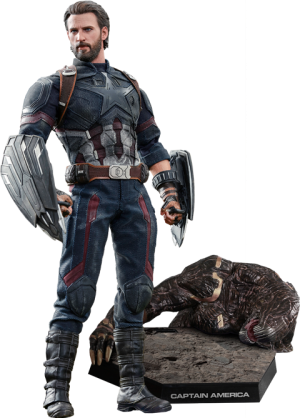 Captain America Movie Promo Edition Sixth Scale Figure