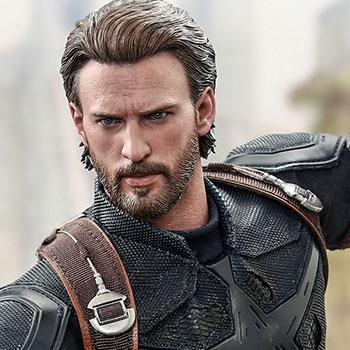 Captain America Movie Promo Edition Sixth Scale Figure