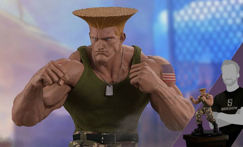 Gallery Feature Image of Guile Statue - Click to open image gallery