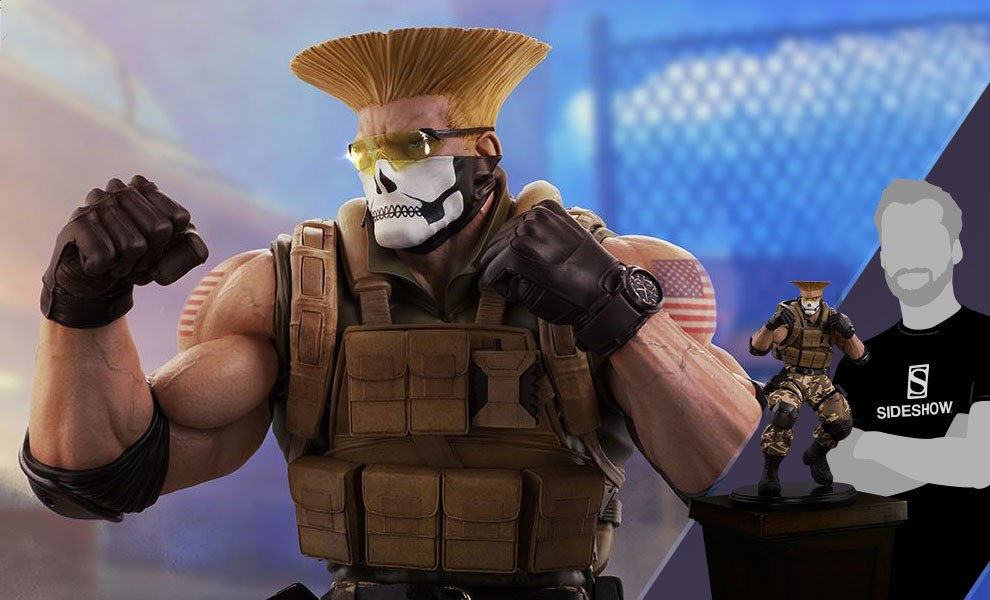 Gallery Feature Image of Guile Tactical Statue - Click to open image gallery