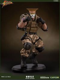 Gallery Image of Guile Tactical Statue