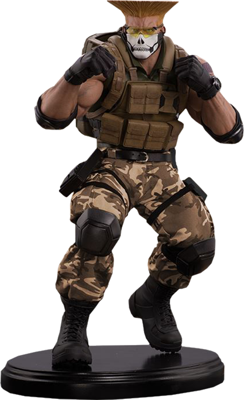 PCS Collectibles Guile Tactical Statue