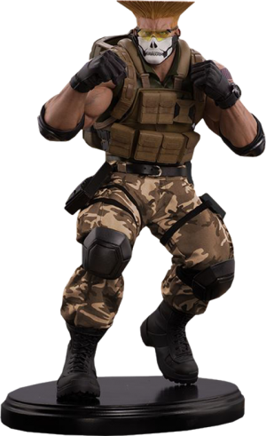 Guile Tactical Statue