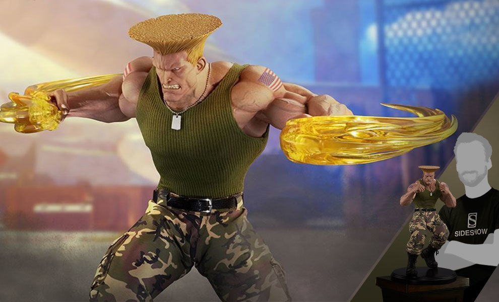 Gallery Feature Image of Guile Ultimate Statue - Click to open image gallery