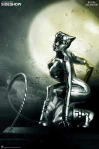 Gallery Image of Catwoman Figurine Pewter Collectible