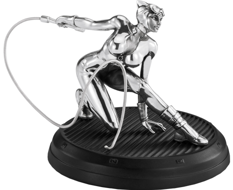 Royal Selangor Catwoman Figurine Pewter Collectible