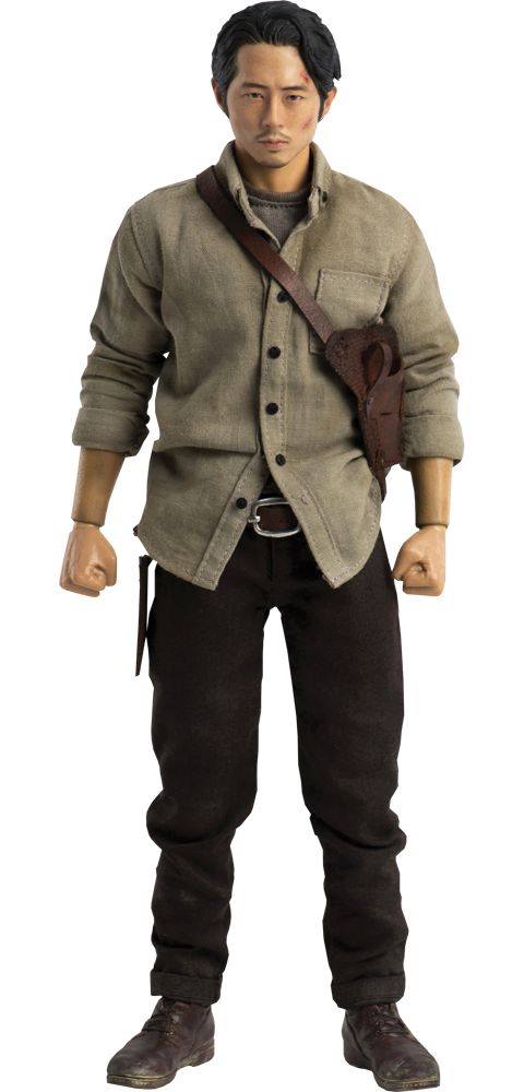 Threezero Glenn Rhee Deluxe Version Sixth Scale Figure