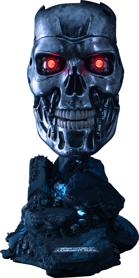 PureArts T-800 Endoskeleton Life-Size Bust