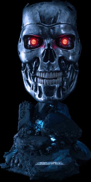 T-800 Endoskeleton Life-Size Bust