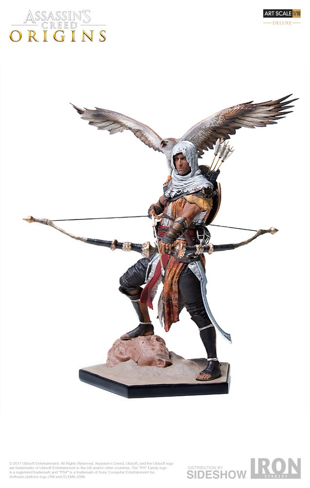 Assassins Creed Bayek Deluxe Statue By Iron Studios Sideshow
