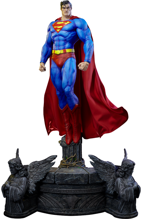 Prime 1 Studio Superman Fabric Cape Edition Statue