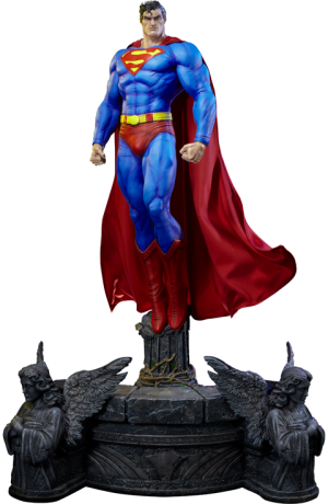 Superman Fabric Cape Edition Statue