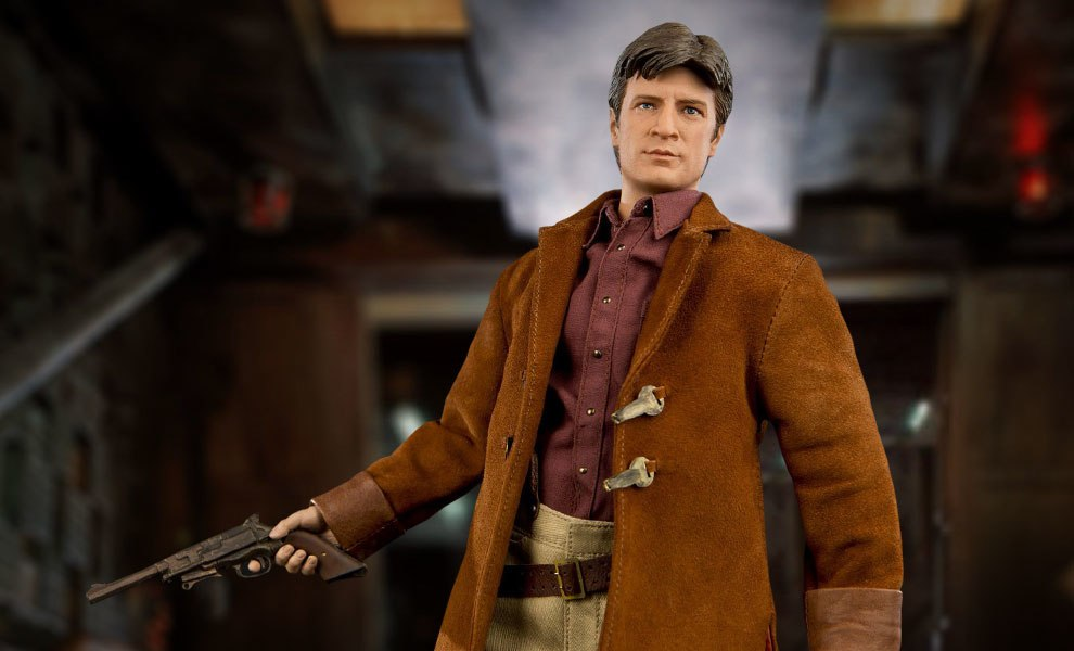 Cap Malcolm Reynolds Pistol /& Leather Like Holster 1//6 scale toy FIREFLY
