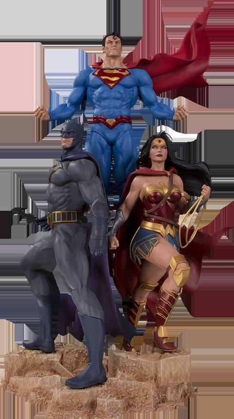 DC Direct Trinity Statue