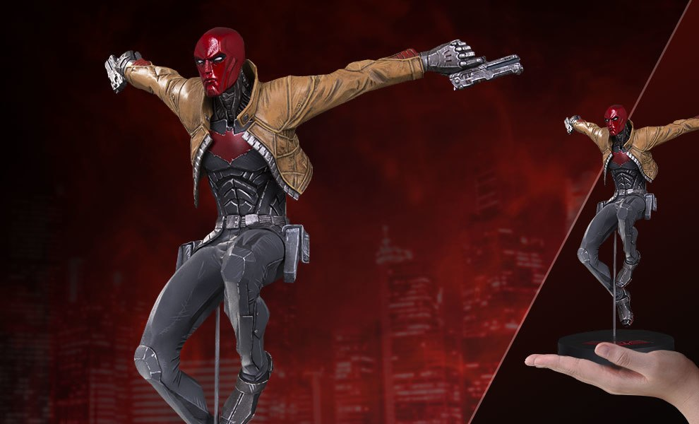 Gallery Feature Image of Red Hood Statue - Click to open image gallery