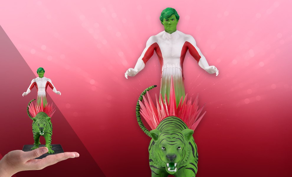 Gallery Feature Image of Beast Boy Statue - Click to open image gallery