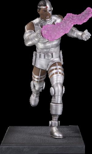 Cyborg Statue
