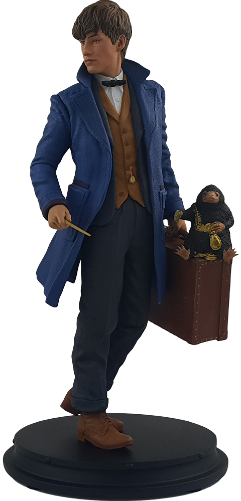 Icon Heroes Newt Scamander with Niffler Statue