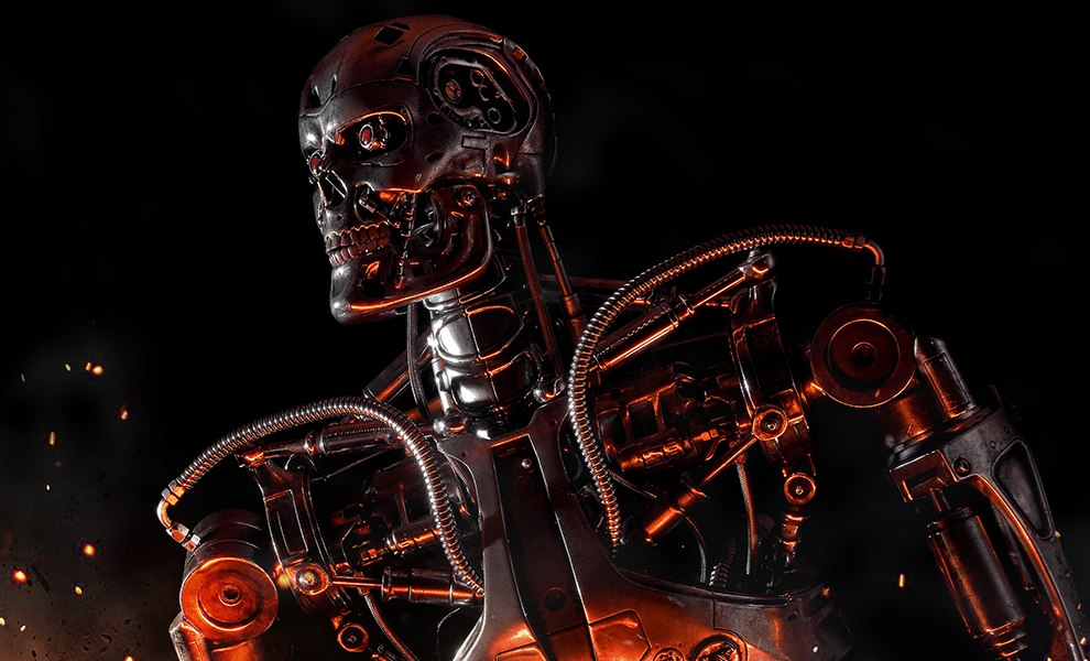 Gallery Feature Image of T-800 Endoskeleton The Terminator Statue - Click to open image gallery