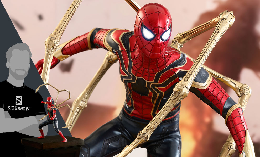 Gallery Feature Image of Iron Spider Sixth Scale Figure - Click to open image gallery