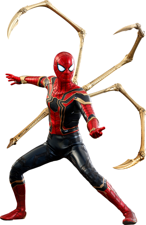 Iron Spider Spiderman Figure by Hot Toys
