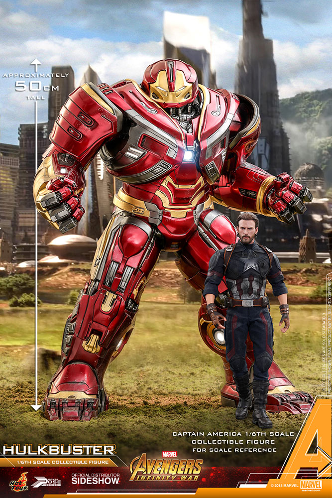 Marvel Hulkbuster Sixth Scale Figure By Hot Toys