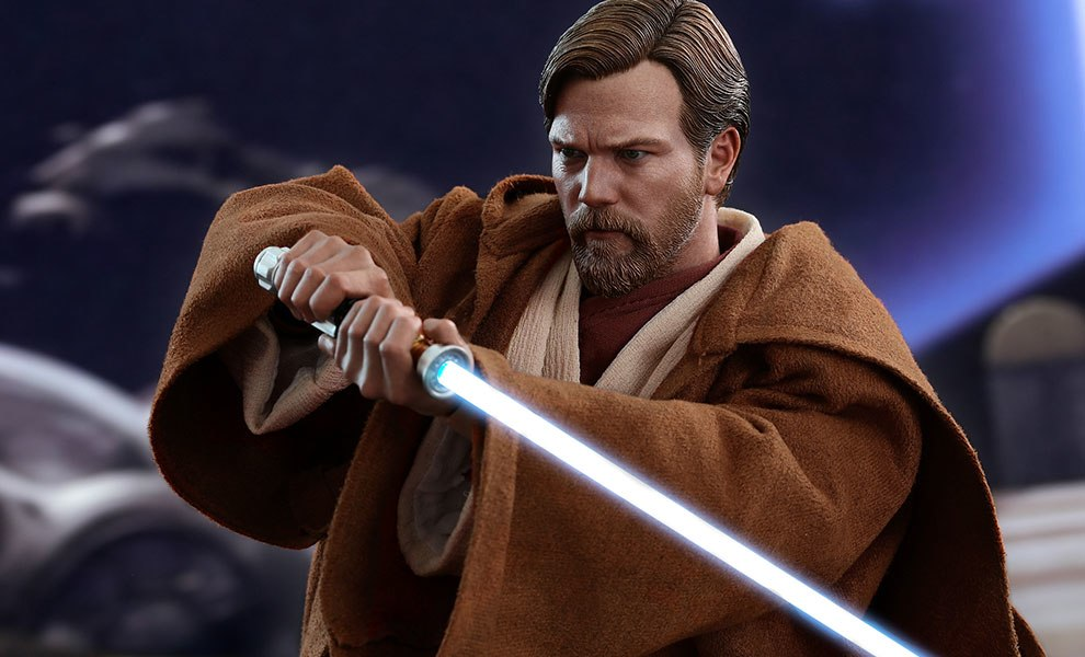 Obi Wan Kenobi Revenge Of The Sith Figure By Hot Toys Sideshow Collectibles