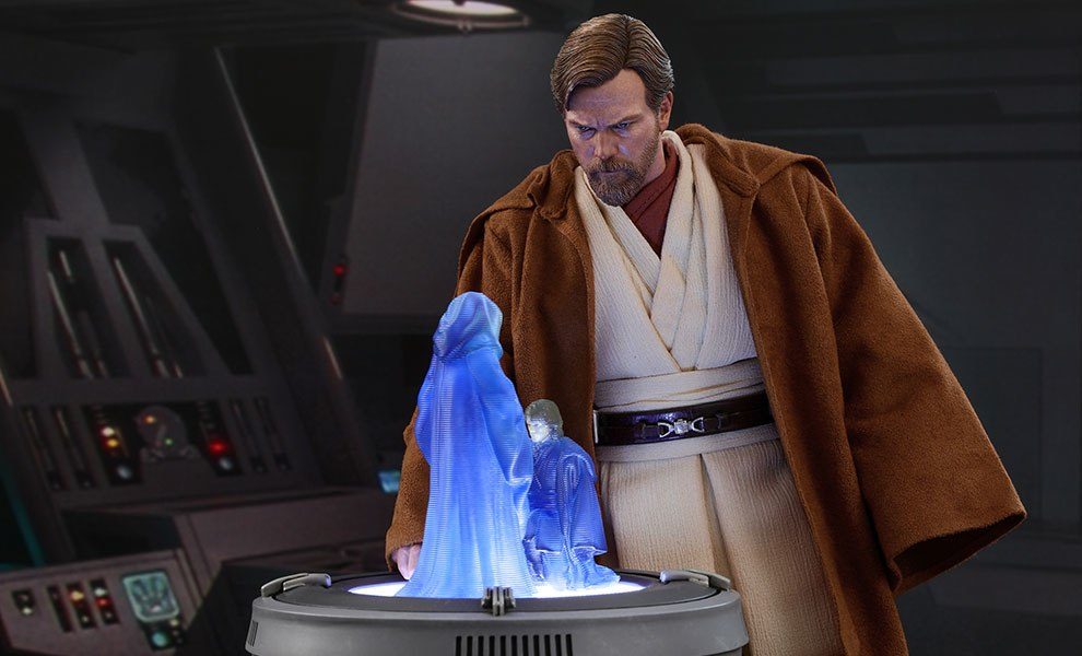 Gallery Feature Image of Obi-Wan Kenobi Deluxe Version Sixth Scale Figure - Click to open image gallery