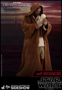 Gallery Image of Obi-Wan Kenobi Deluxe Version Sixth Scale Figure