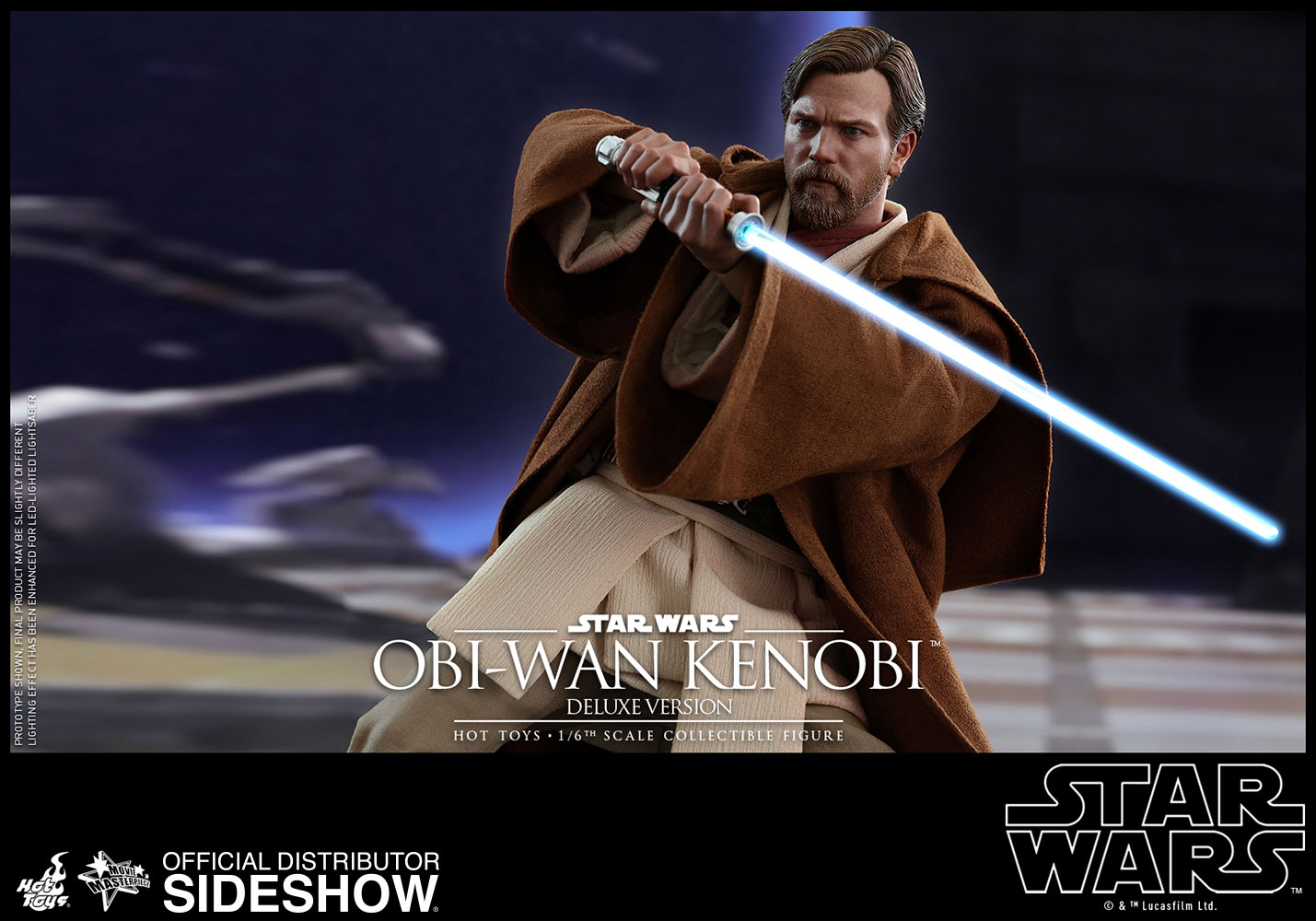 Obi Wan Revenge Of The Sith Figure By Hot Toys Sideshow Collectibles