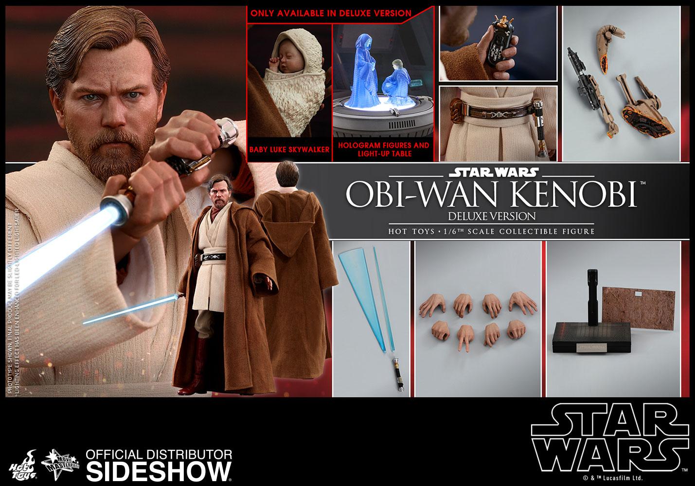 Star Wars Obi-Wan Kenobi Deluxe Version Sixth Scale Figure b