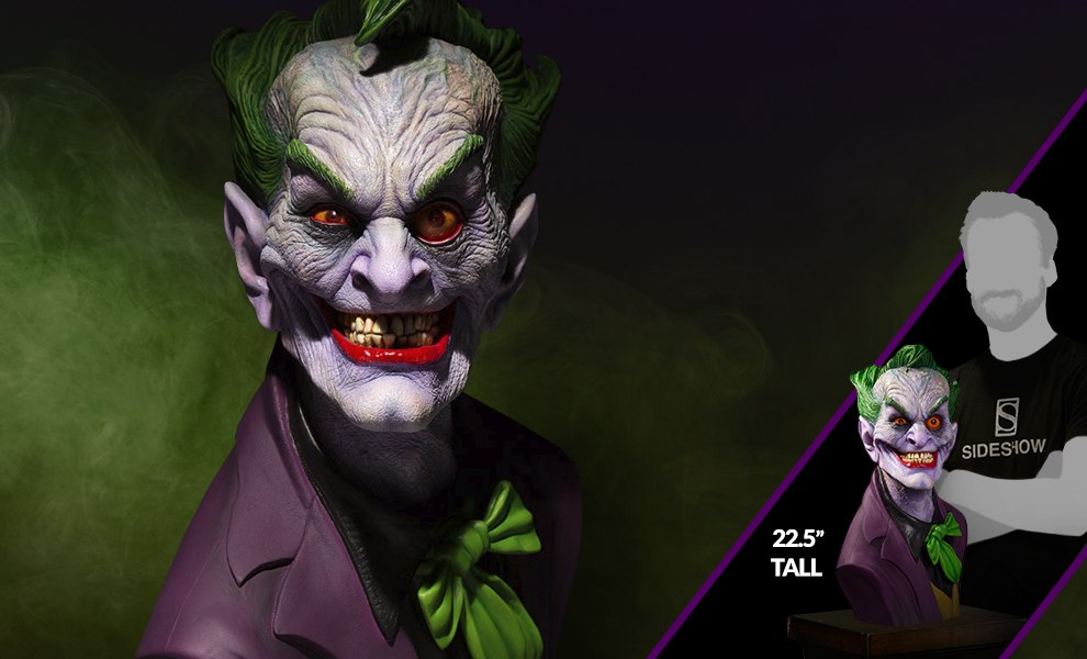 Gallery Feature Image of The Joker Ultimate Edition Bust - Click to open image gallery
