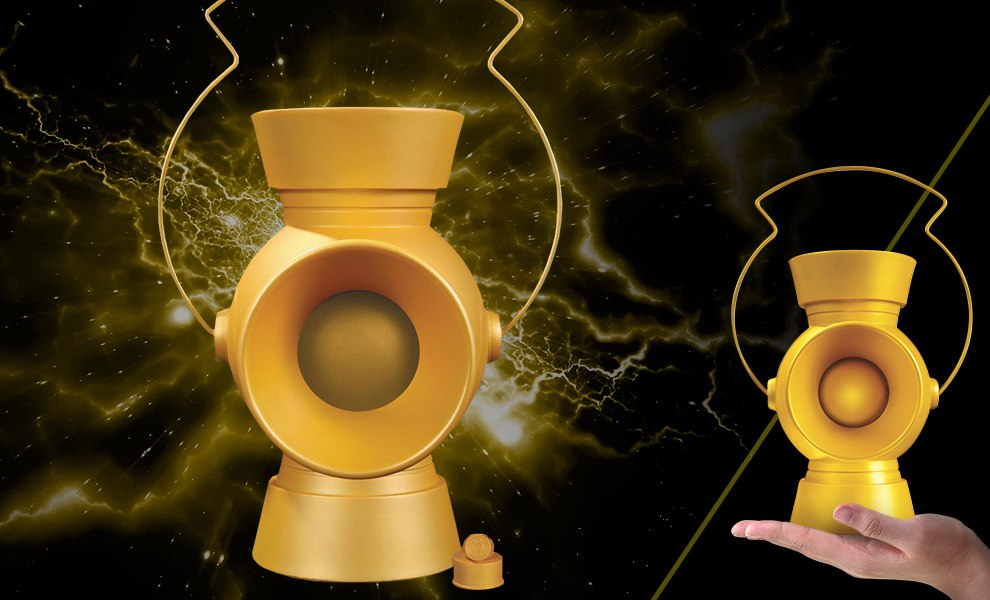 Gallery Feature Image of Yellow Lantern Power Battery Prop Replica - Click to open image gallery
