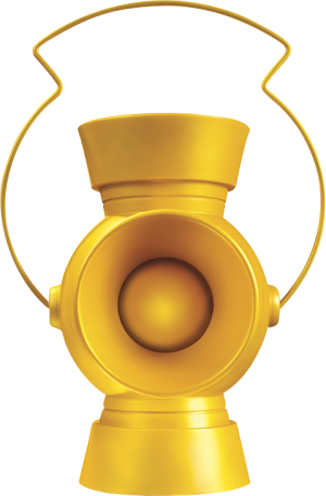 Yellow Lantern Power Battery Prop Replica