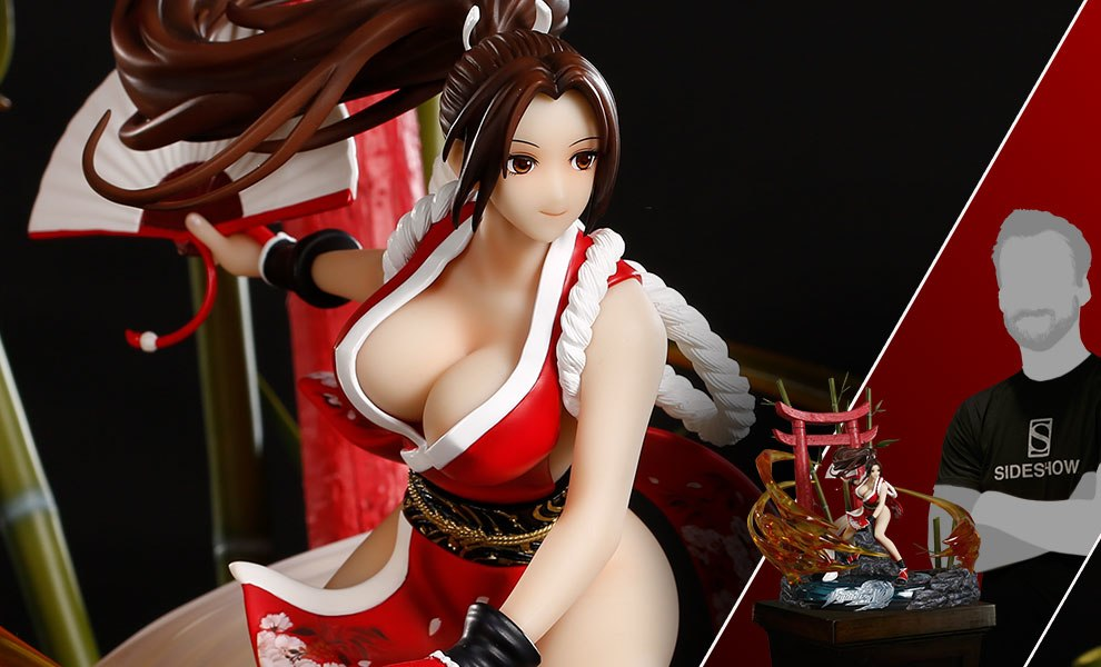 Gallery Feature Image of Mai Shiranui Diorama - Click to open image gallery
