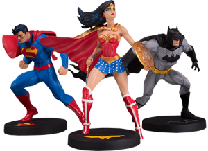 Jim Lee Collector 3-Pack Statue