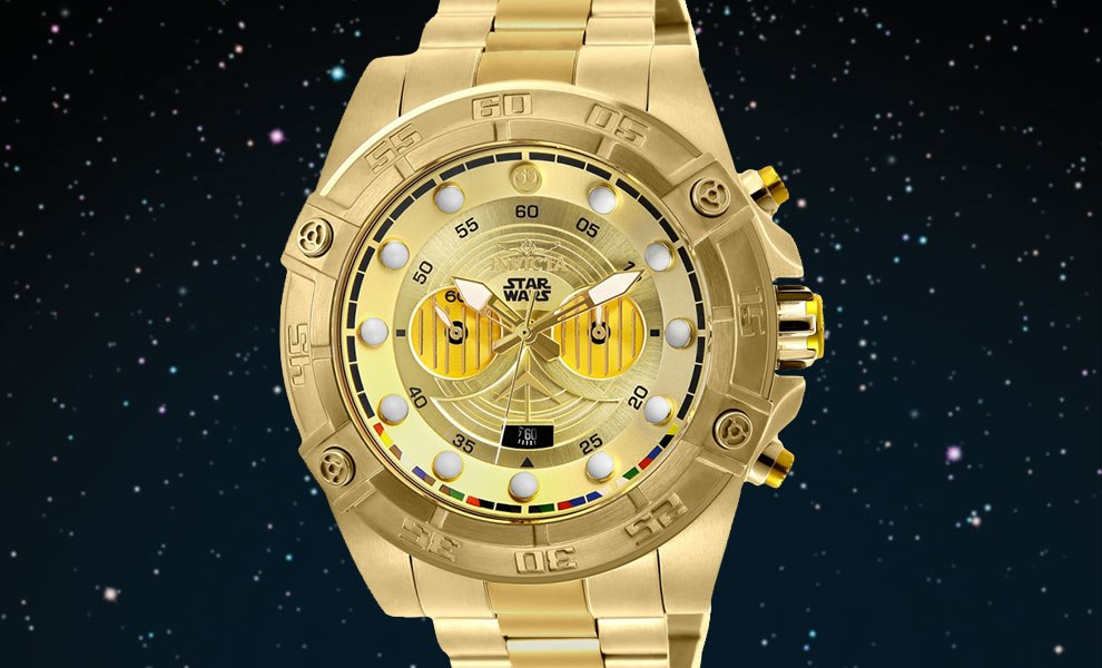 Gallery Feature Image of C-3PO Watch - Model 26525 Jewelry - Click to open image gallery