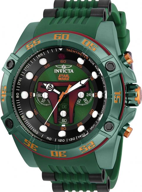 Invicta Boba Fett Watch - Model 26543 Jewelry
