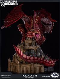 Gallery Image of Klauth Red Dragon Fire Statue