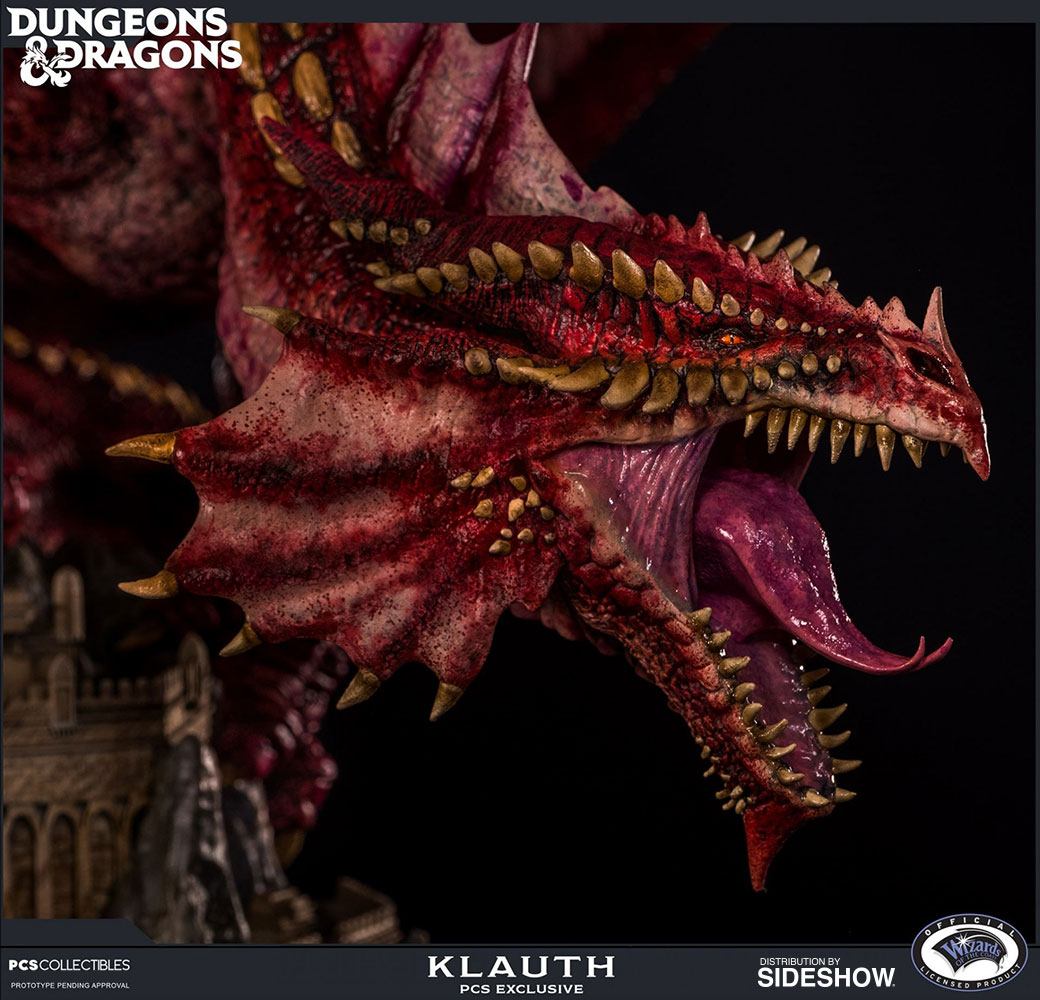 Klauth Red Dragon Fire Exclusive Edition