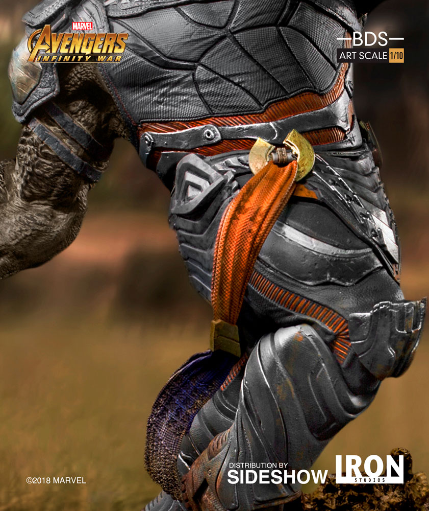 Marvel Cull Obsidian Statue by Iron Studios
