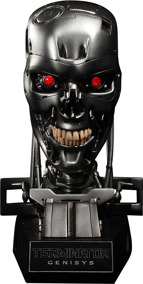 Chronicle Collectibles Endoskeleton Skull Prop Replica