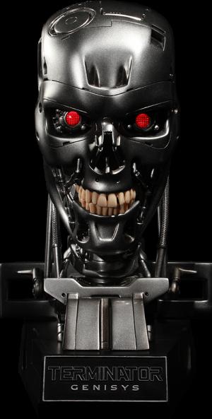 Endoskeleton Skull Prop Replica