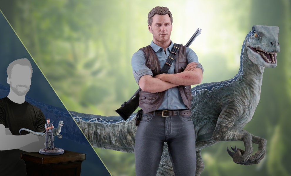 Gallery Feature Image of Owen and Blue Statue - Click to open image gallery