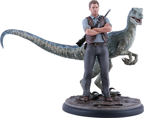 Chronicle Collectibles Owen and Blue Statue